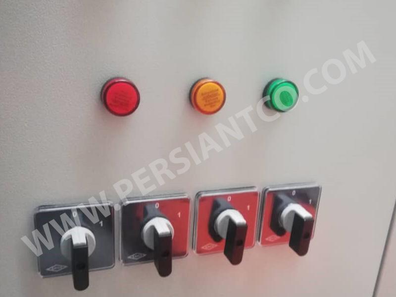 قطعات روی درب تابلو برق